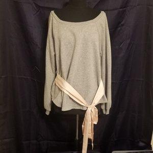 Victoria's Secret Fleece Tie Waist Top